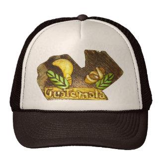 Guatemalan Country Shaped wood Cap