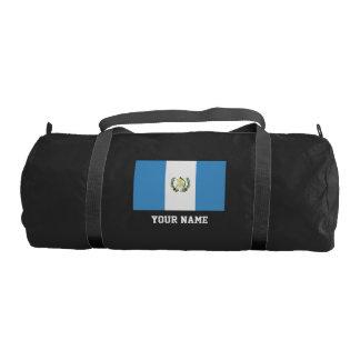 Guatemalan flag gym bag