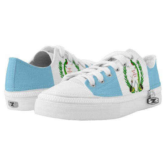 Guatemalan Flag Low Tops