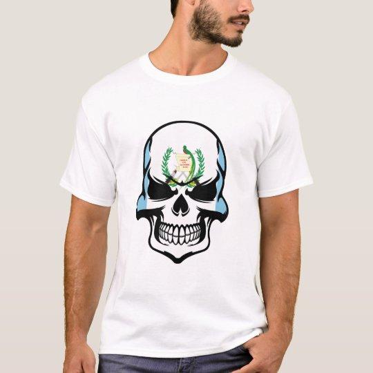 Guatemalan Flag Skull T-Shirt