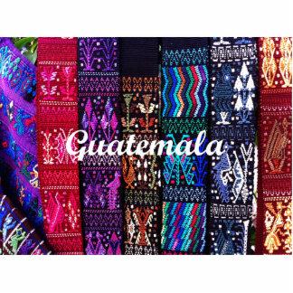 Guatemalan textile designs. photo cutouts