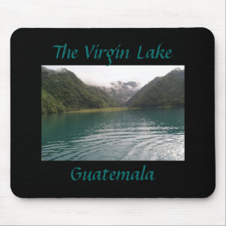 Guatemala's Virgin Lake Mouse Pad