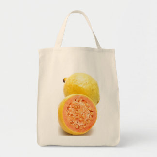 Guava fruits grocery tote bag