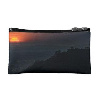 Guayaquil Aerial Landscape Sunset Scene Makeup Bag