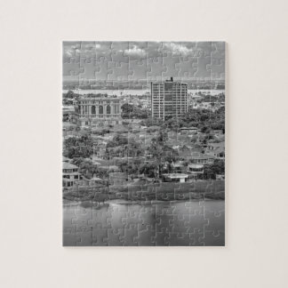 Guayaquil Aerial View from Window Plane Jigsaw Puzzle