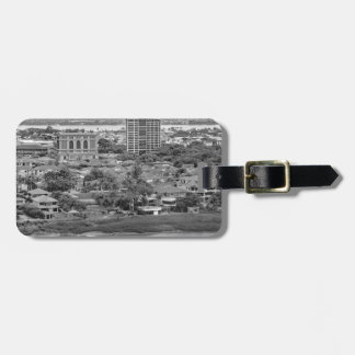 Guayaquil Aerial View from Window Plane Luggage Tag