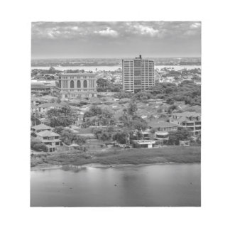 Guayaquil Aerial View from Window Plane Notepads