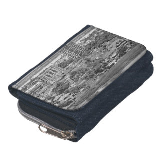 Guayaquil Aerial View from Window Plane Wallets