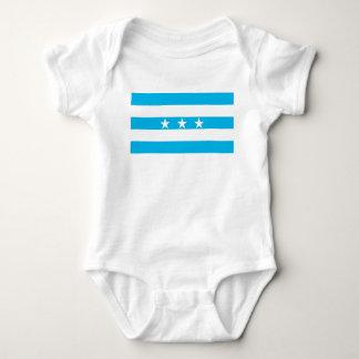 Guayaquil city flag Ecuador symbol Baby Bodysuit