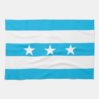 Guayaquil city flag Ecuador symbol Tea Towel