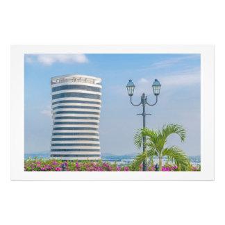 Guayaquil Cityscape from Cerro Santa Ana GUAYAQUIL Art Photo