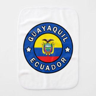 Guayaquil Ecuador Burp Cloth