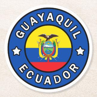 Guayaquil Ecuador Round Paper Coaster