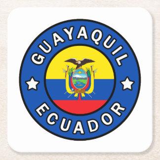 Guayaquil Ecuador Square Paper Coaster