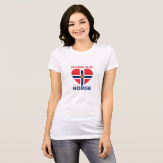 GUDS ILD OVER NORGE T-Shirt
