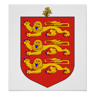 Guernsey Coat Of Arms Print