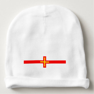 Guernsey country long flag nation symbol republic baby beanie