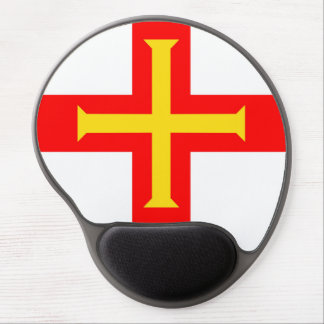 Guernsey country long flag nation symbol republic gel mouse pad