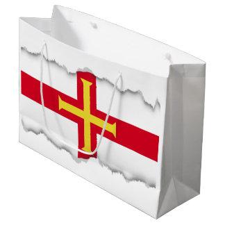 Guernsey Flag Large Gift Bag