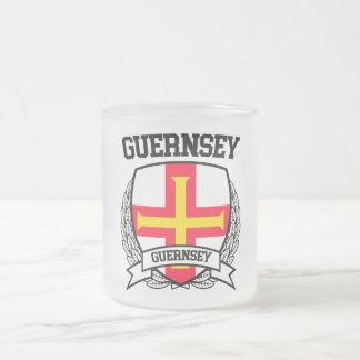 Guernsey Frosted Glass Coffee Mug