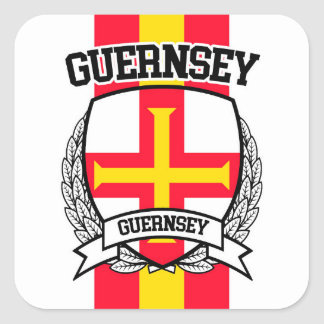 Guernsey Square Sticker