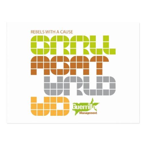 Guerrilla Management Logo 19 Postcard
