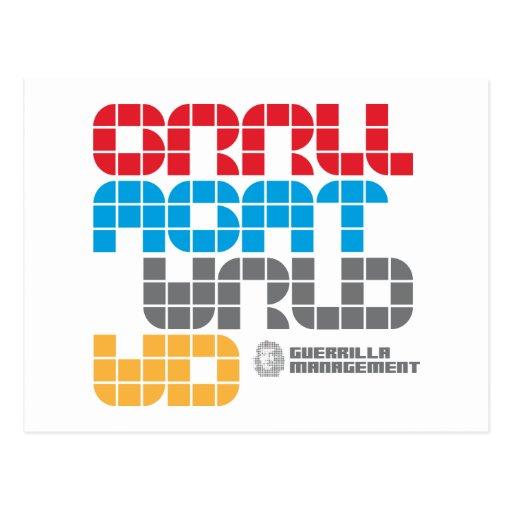 Guerrilla Management Logo 21 Postcards