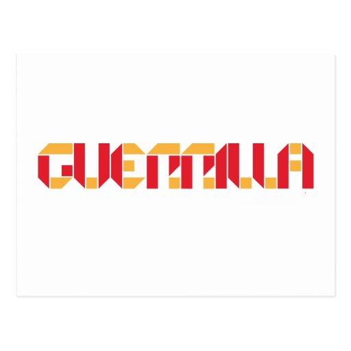 Guerrilla Management Logo 7 Post Card