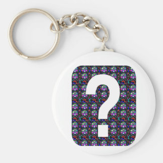 GUESS the GIFT question Symbol Art NVN543 ALL FUN Keychains