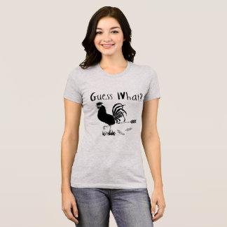 Guess What Chicken Butt funny joke T-Shirt