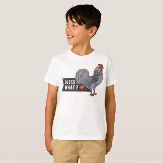 Guess What Chicken Butt Kids T-Shirt