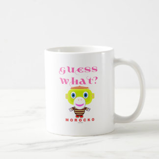 Guess What-Cute Monkey-Morocko Coffee Mug