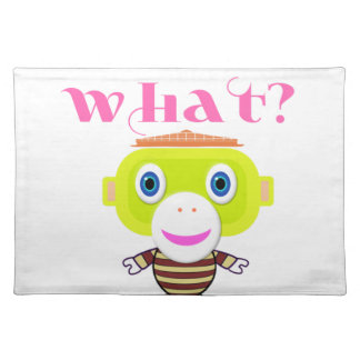 Guess What-Cute Monkey-Morocko Placemat