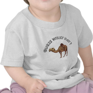 guess what day camel hump t shirts