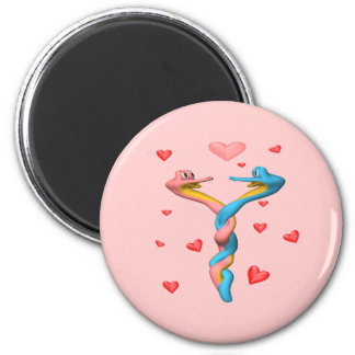 Guess What Valentine's Day T-shirts and Gifts 6 Cm Round Magnet