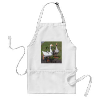 Guess Who's Coming For Dinner Standard Apron
