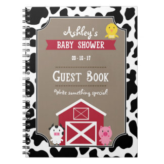 Guest Book - Farm Animals