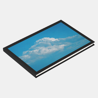 Guest Book- Fluffy White Clouds