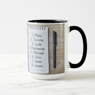 GUEST MUG FOR THAT SPECIAL DINNER BY ZAZZ_IT