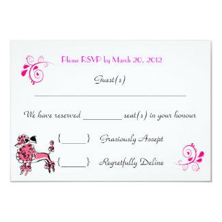 "Guest(s)  _______________________________We hav... 3.5"" X 5"" Invitation Card"