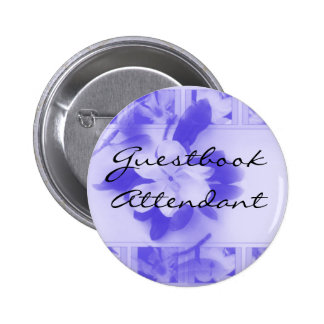 Guestbook Attendant 6 Cm Round Badge