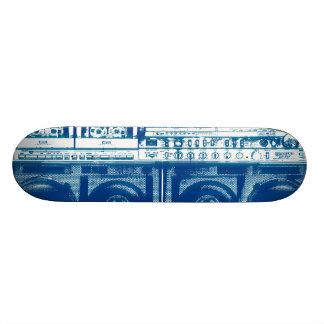 Guetto blaster skateboard