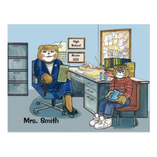 Guidance Counselor Appointment Post Card
