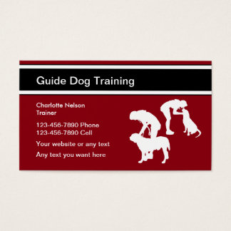 Guide Dog Trainer