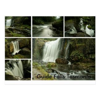Guide Falls Postcard, Guide Falls Tasmania Postcard