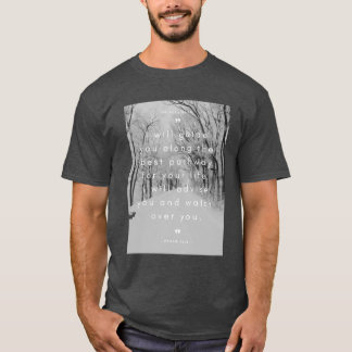 """Guide you along best Pathway"" Bible Wisdom T-Shirt"