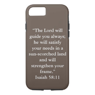 """Guide You Always"" Iphone 7 Tough Phone Case"
