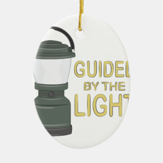 Guided By Light Ceramic Oval Decoration