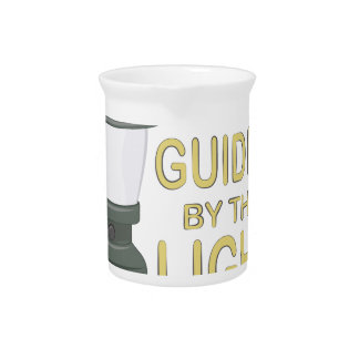 Guided By Light Drink Pitchers