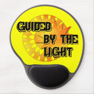 Guided by the Light Gel Mousepad